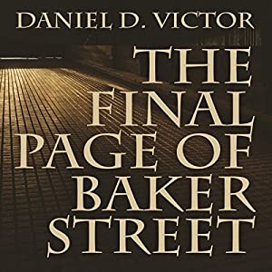 The Final Page of Baker Street Audiobook