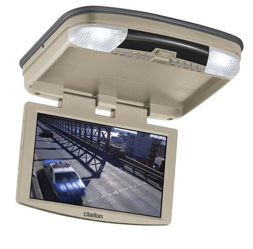 Clarion VT1000T 10-Inch Overhead Monitor with Built-In DVD Player