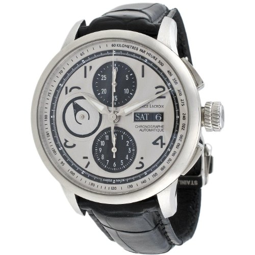 Maurice Lacroix Men's MP6348-SS001-12E Masterpiece Masterchrono Chronograph Watch