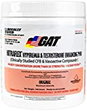 GAT Clinically Tested Nitraflex Testosterone Enhancing Pre Workout, Watermelon, 300 Gram