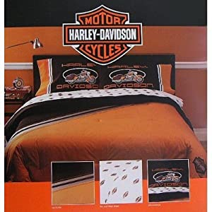 Harley Davidson Motorcycles Bed In A Bag