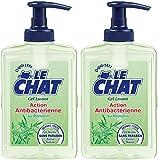 Le Chat - Gel Lavant - Action Antibactérienne - Flacon 300 ml -Lot de 2