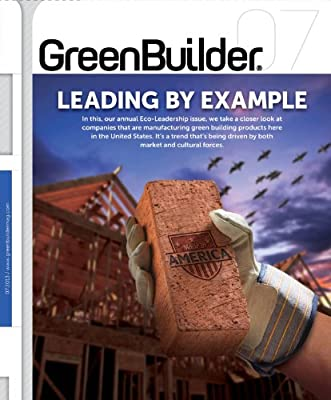 Green Builder Magazine - July 2013