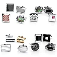 Zysta 8pcs Stainless Steel Grid Shell…