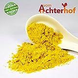 1 kg Senfmehl Senfsaat gelb gemahlen , teilentölt zur Senfherstellung