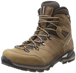 Lowa Women\'s Hudson Goretex Mid Hiking Boot,Taupe,6 M US