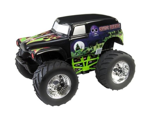 Hot Wheels Monster Jam: Grave Digger - Buy Hot Wheels Monster Jam: Grave Digger - Purchase Hot Wheels Monster Jam: Grave Digger (Mattel, Toys & Games,Categories,Play Vehicles,Vehicle Playsets)