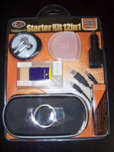 Universal Starter Kit 12 in 1 for Use with PSP (Psp 2000 Starter Kit compare prices)