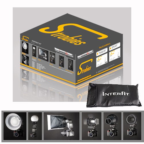 Interfit STR100 Strobies Portrait Kit