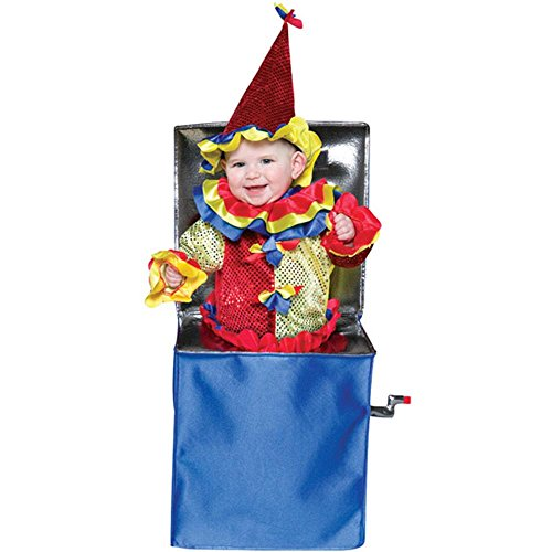Baby Jack In The Box Halloween Costume (Size: 6-12 Months)