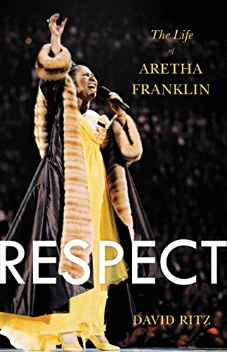 """Just a little bit"" is all you'll need to grab this definitive biography of the Queen of Soul!  Respect: The Life of Aretha Franklin by acclaimed biographer David Ritz"