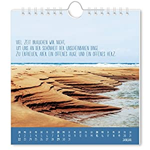 Strandgut 2017: Postkartenkalender