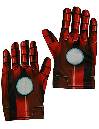 Rubies Pair of Iron Man Gloves Costume Accessories [35694]