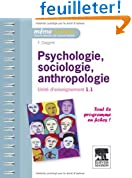 Psychologie, sociologie, anthropologie - UE 1.1
