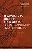 img - for Learning in Higher Education Contemporary Standpoints (Learning in Higher Education series) book / textbook / text book