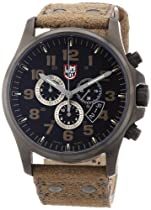 Luminox Atacama Field Chronograph Brown Leather Mens Watch 1893
