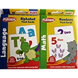 Leapyear Playskool Alphabet And Numbers Flash Cards (2 Sets)