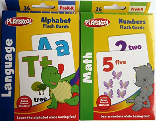 Playskool Alphabet and Numbers Flash Cards - 1