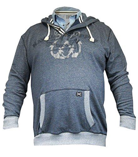 Greyes -  Felpa  - Uomo blu XXL