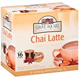 Grove Square Chai Latte, 16-count Single Serve Cup for Keurig K-cup Brewers