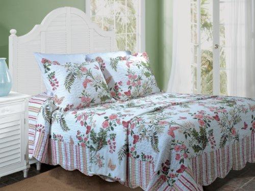 Greenland Home Fashions Secret Garden Twin 2-Piece Bedspread Set front-496718
