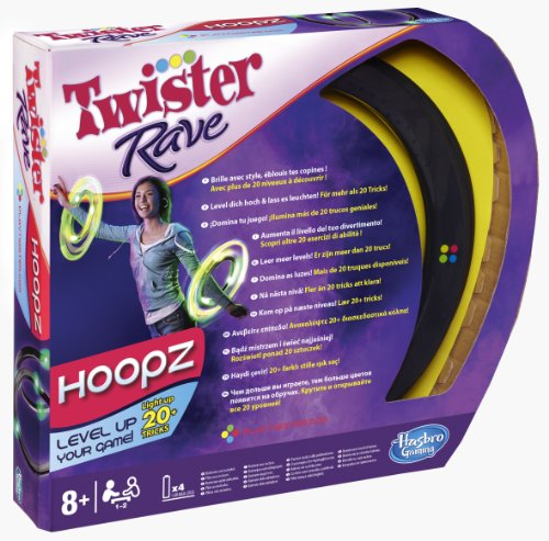Hasbro - Twister Rave Hoopz  (in italiano)