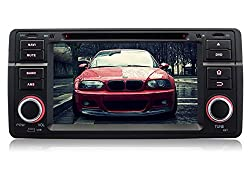 See Pumpkin 7 inch Single Din In Dash Stereo GPS Navigation Android 4.4 HD Capacitive Multi-touch Screen Car DVD Player Support Bluetooth/USB/SD/FM/AM Radio/3G/Wifi/DVR/OBD2/1080P For BMW E46/M3/318/320/325/330/335 1998-2006 Details