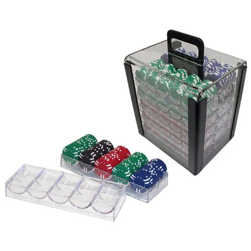 Find Cheap Trademark Poker 1000 Chip Capacity Clear Carrier