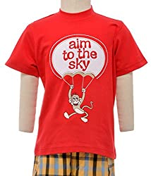 JusCubs aim to the sky T-shirt
