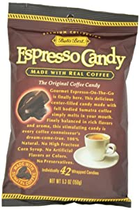 Bali's Best Espresso Candy, 5.3-Ounce Bags (Pack of 12)