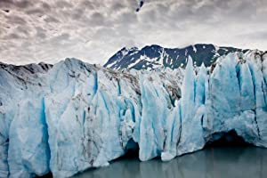 Photographs America Alaska Glacier Meets the Water in Prince William Sound, Exceptional Photographic Print by Carol M. Highsmith