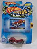 HOT WHEELS COLOR SHIFTER CREATURES SKULL CRUSHER WATER CHANGES COLOR OF CAR