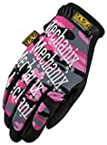 Mechanix Wear MG-72-520 Womens Glove Pink Camo Medium thumbnail