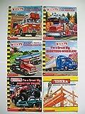 img - for Tonka Trucks (Set of 6) Fire Truck; Car Hauler; Tanker Truck; 18-Wheeler; Monster Truck book / textbook / text book