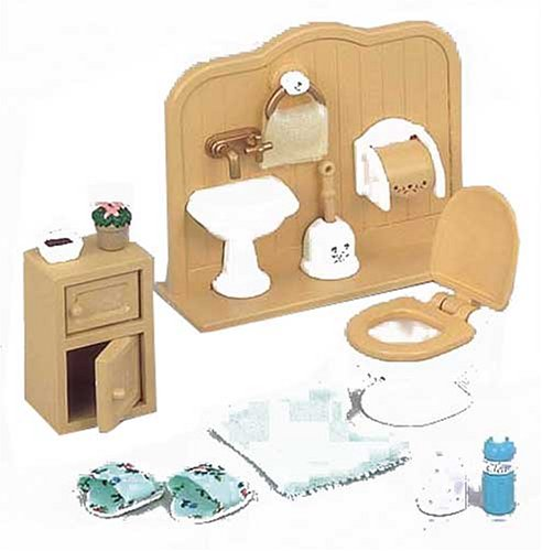 "Epoch Sylvanian Families Sylvanian Family Doll ""Bathroom Set Ka-606"" - 1"