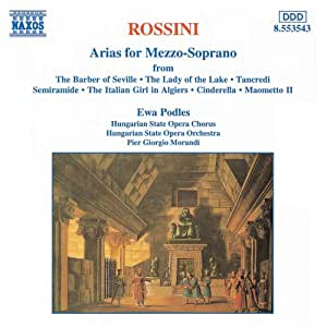 Ewa Podles ~ Rossini airs pour mezzo soprano