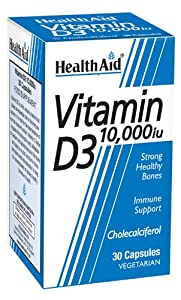 HealthAid 10000iu Vitamin D3