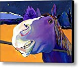 Modern 100% Hand Painted Wall Oil Paintings For Wall And Home Decorations Unframe And Unstretch,Horse Pattern,25 x 19 inch canvas