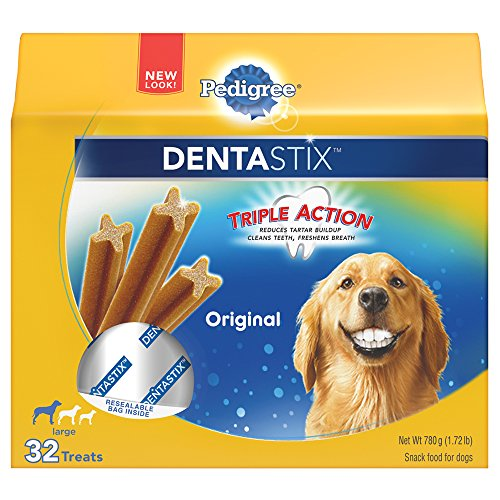 PEDIGREE DENTASTIX Large Dog Chew Treats, Original, 32 Treats (Pet Supplies For Large Dogs compare prices)