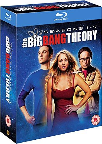 The Big Bang Theory Season 1-7 [Blu-ray](import)