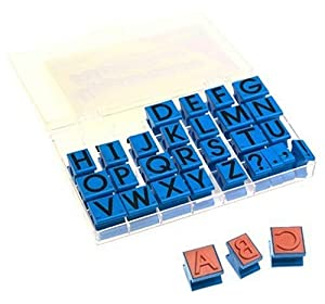 Uppercase Alphabet Stamps