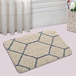 Saral Home Soft Microfiber Bathmat- 40x60 cm