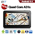 """Promotional price! Super Saving tablet! TONBUX�10.1"""" Google ANDROID 4.4 KITKAT A31S QUAD CORE TABLET PC Bluetooth HDMI WIFI 16GB High grade tablet!"""