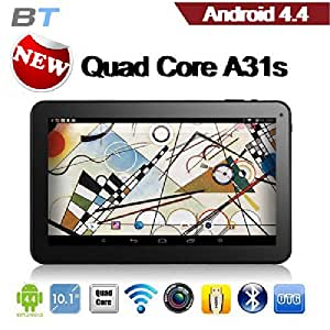 "Promotional price! Super Saving tablet! TONBUX®10.1"" Google ANDROID 4.4 KITKAT A31S QUAD CORE TABLET PC Bluetooth HDMI WIFI 16GB High grade tablet!"