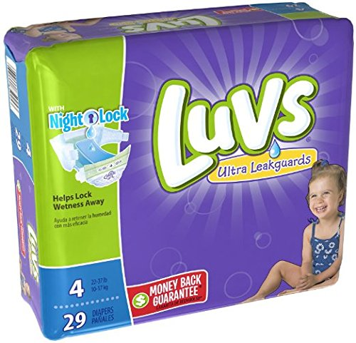 Luvs with Ultra Leakguards, Size 4 Diapers, 29 ea - 1