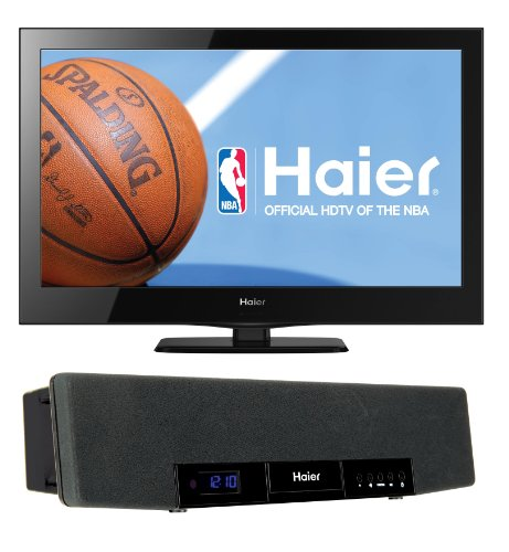 Haier 24-Inch 1080P 60Hz Lcd Hdtv With Soundbar
