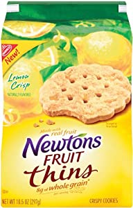 Newton Fruit Thins Lemon Crisps, 10.5-Ounce(4 pack)