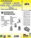 RW 10 Sacs d'aspirateur-Lot