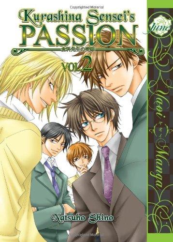Kurashina Sensei's Passion Volume 2 (Yaoi)