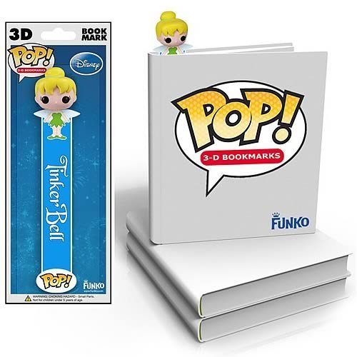 Funko Disney Tinker Bell 3D Bookmark